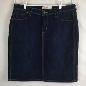 Levi's Perfectly Slimming Denim Skirt